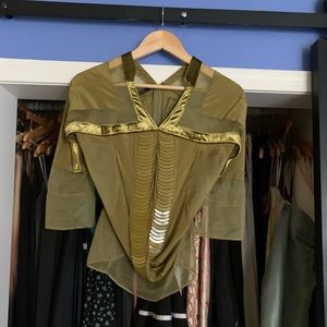 Green Gucci Shirt
